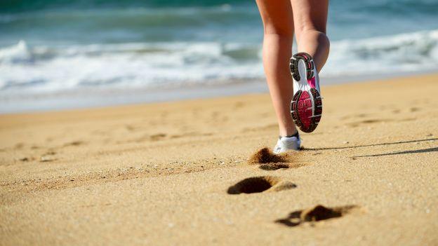 Allenamento sulla sabbia
